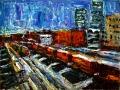 Allen Forrest - Gastown Railroad Yard Vancouver BC