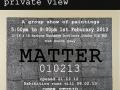 Matter 010213