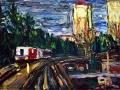 Allen Forrest - Morning Skytrain Burnaby BC