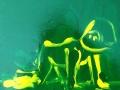Enzo Marra - Franko B (green and yellow) - 2015