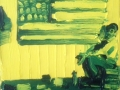 Enzo Marra - Yellow and Blue - Jasper Johns - 2014
